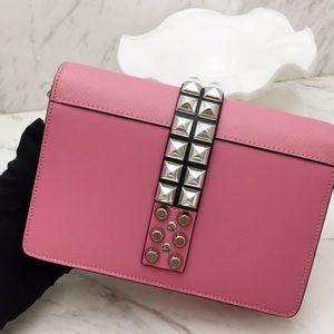 High Quality Pink Leather Shoulder Bag